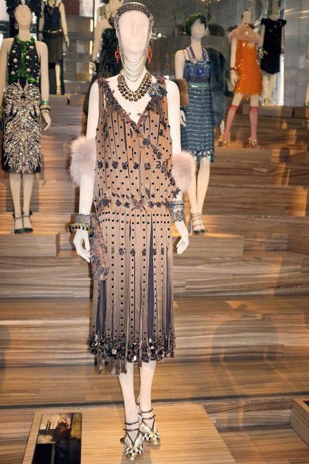 Винтажное платье 20-х годов в стиле Гетсби