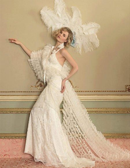 Облегающее винтажное платье