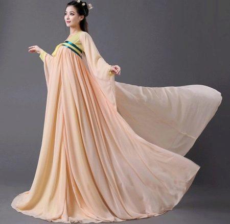 Свадебное пышное платье в восточном стиле