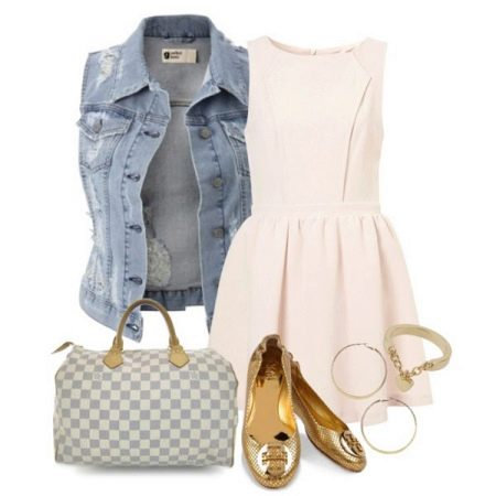 Балетки под розовое платье