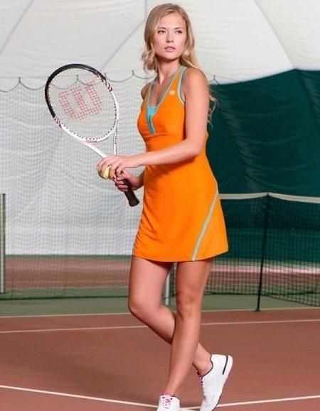 Платье-майка спортивное