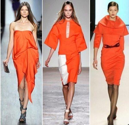 Платья цвета Кои