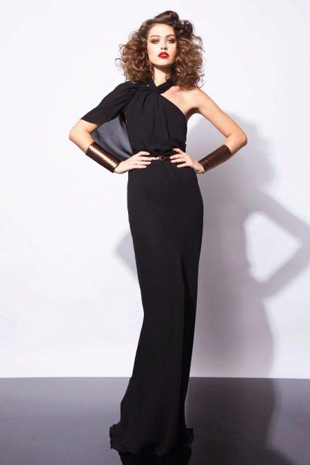 Черное платье от Рани Закхэм