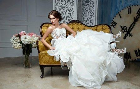 Свадебное платье от белорусского дизайнера Anna Delaria