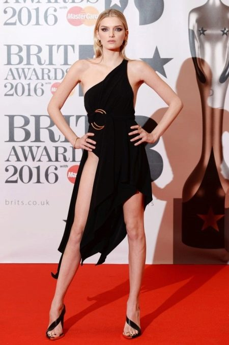 BRIT Awards 2016: Lily Donaldson