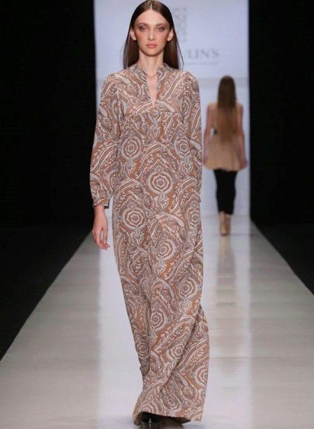 Длинное платье-туника пол для беременных