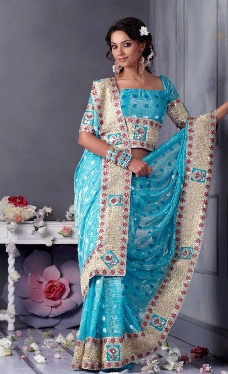 Платье сари