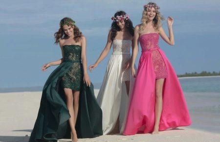 Открытое гипюровое платье