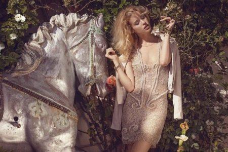 Жакет под кружевное платье