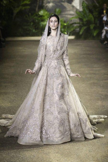 Elie Saab весна-лето 2016  свадебное платье