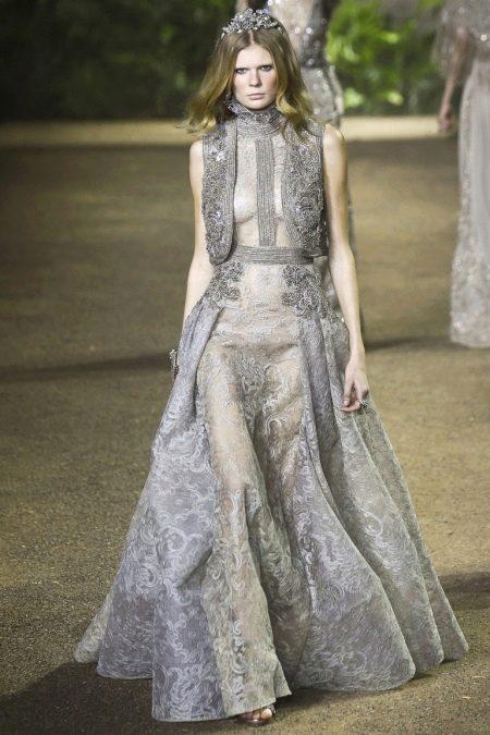 Платье в пол от Elie Saab весна-лето 2016