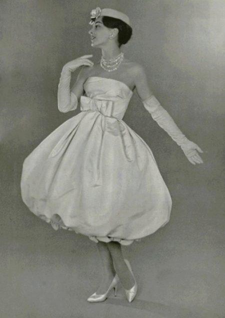 Фасон платье-баллон прошлого века