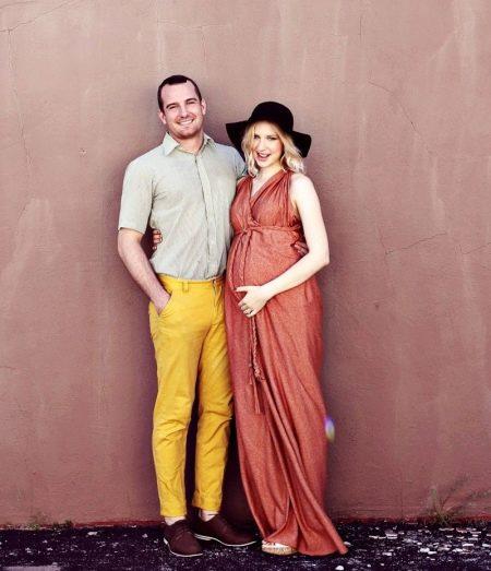 Платье без выкройки для беременных.