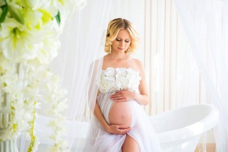 Платье для фотосессии беременных: красивые платья для эффектных фото, прокат