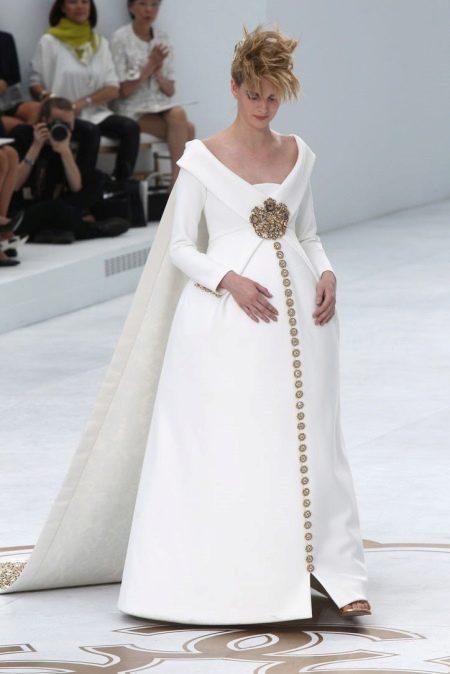 Свадебное платье из неопрена