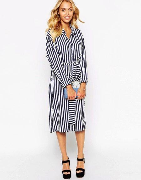 53042036251 Платье-рубашка  модные тенденции