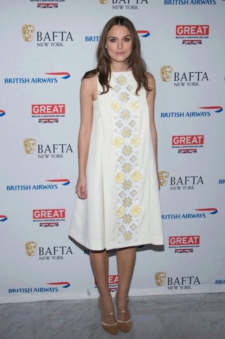 Платье трапеция для беременных Киры Найтли