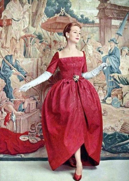 Фасон платья тюльпан