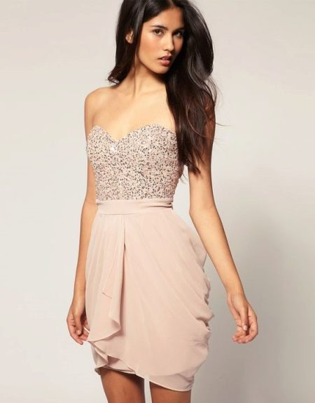 Вечерне платье тюльпан