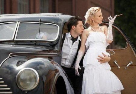 Платье свадебное в стиле Чикаго