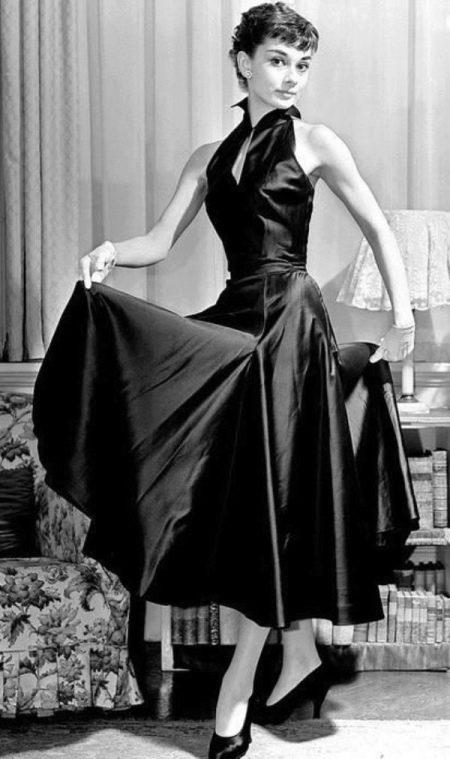 Платье с американской проймой Одри Хепберн