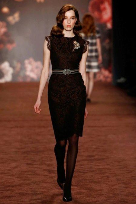 Платье футляр в стиле стиляг
