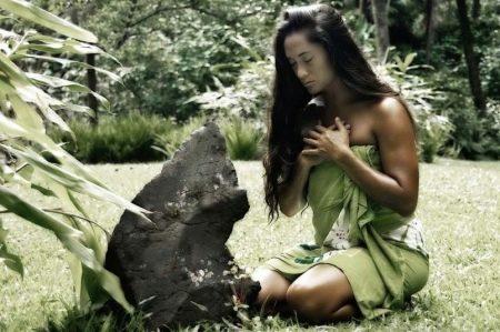 Гавайское платье-юбка