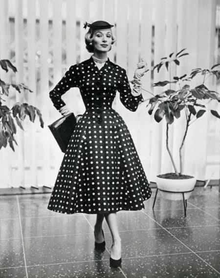 Коллекция платьев Кристиан Диор - Королла (стиль нью лук)