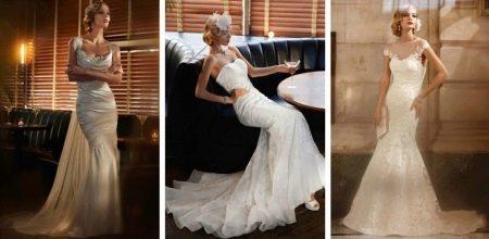 Свадебные платья в стиле Гетсби