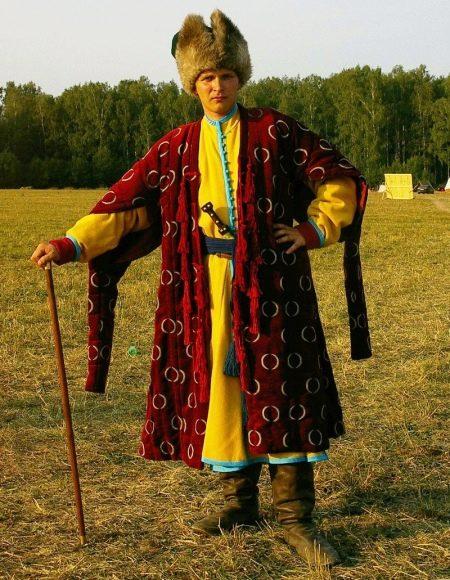 Русский мужской сарафан