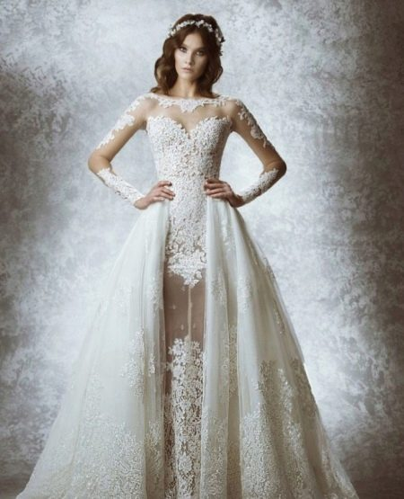 Дизайнерское свадебное платье Зухаира Мурада