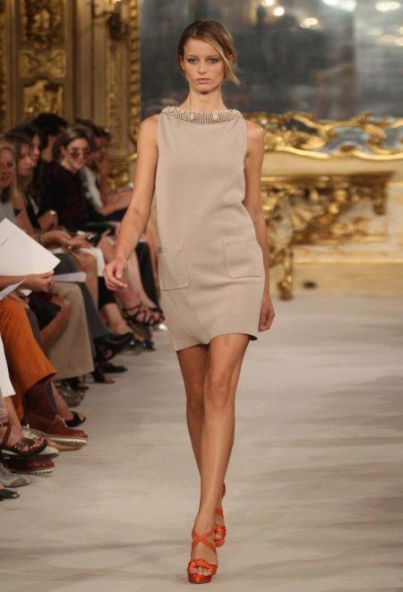Итальянское трикотажное платье