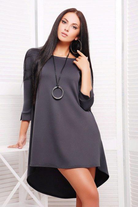 2dd3de0926b Трикотажное платье  с чем носить
