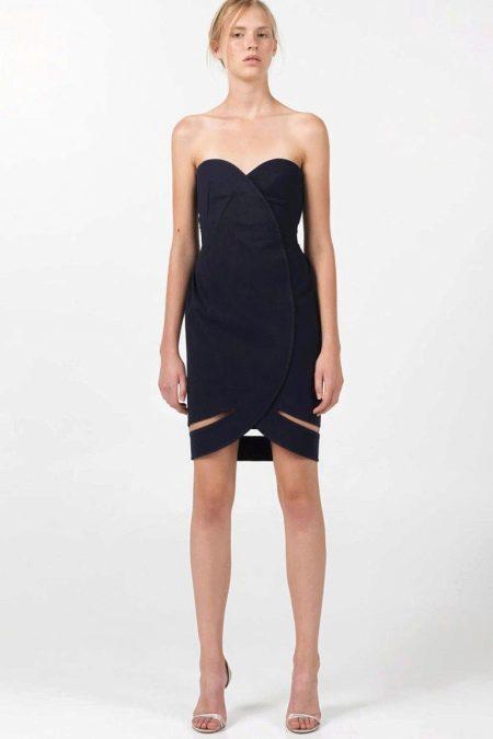 Платье с запахом от Angelos Bratis