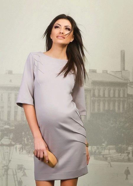 Платье для беременных весеннее короткое