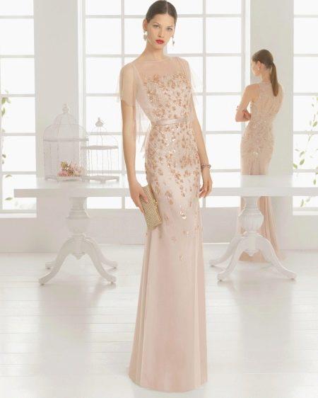 Вечернее платье в пол весеннее