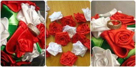 Пример розы из цветка