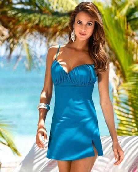 Купальное платье-сарафан
