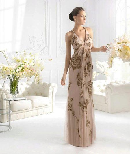 Летнее платье для женщин 50 лет