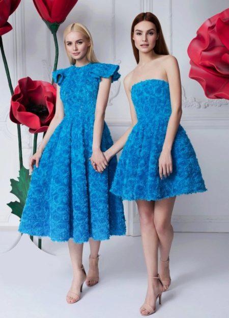 Осеннее платье пышное