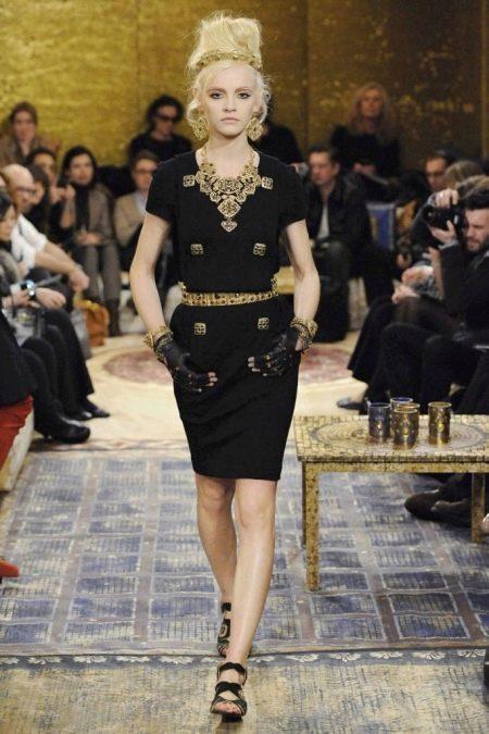 Платье из джерси Коко Шанель