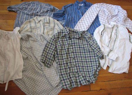 Рубашки для пошива платья