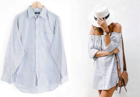 Рубашка мужская для платья