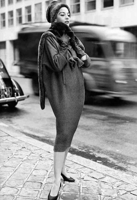 Платье-мешок 1950г - Живанши