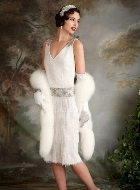 Платье с заниженной талией 20-х годов