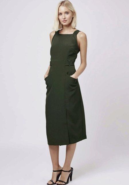 Платье-сарафан для стройных