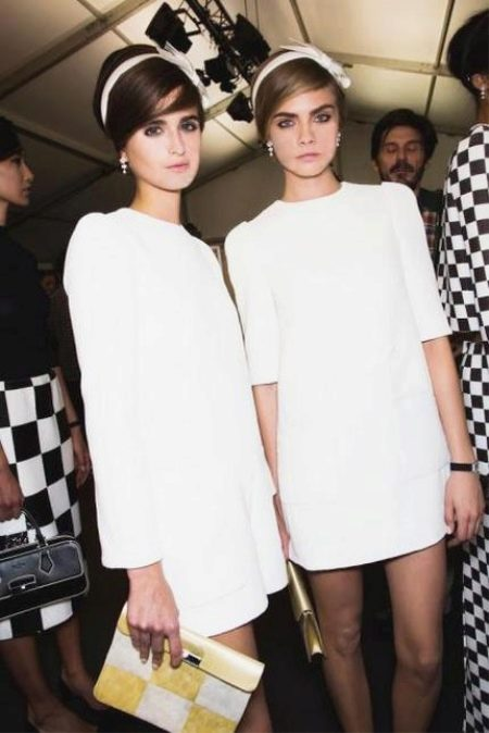 Аксессуары к платьям в стиле 60-х