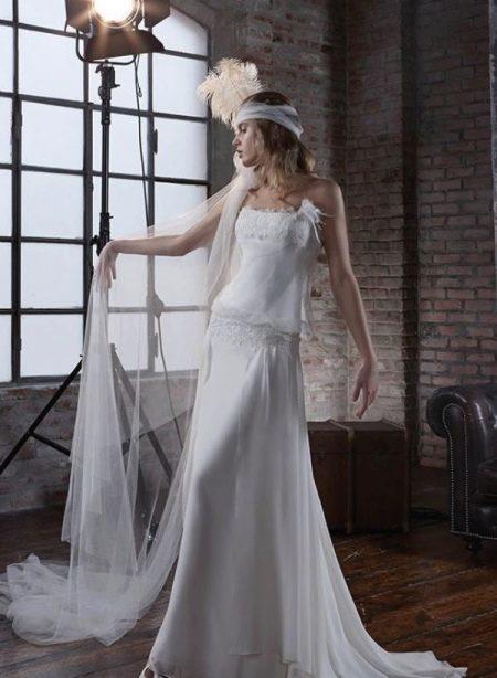 Платье в стиле 20-х с заниженной талией