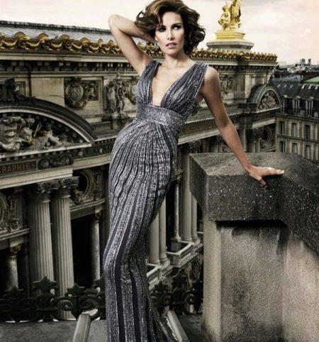 Платье  в стиле ретро вечернее