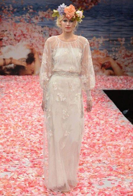Платье  в стиле ретро свадебное